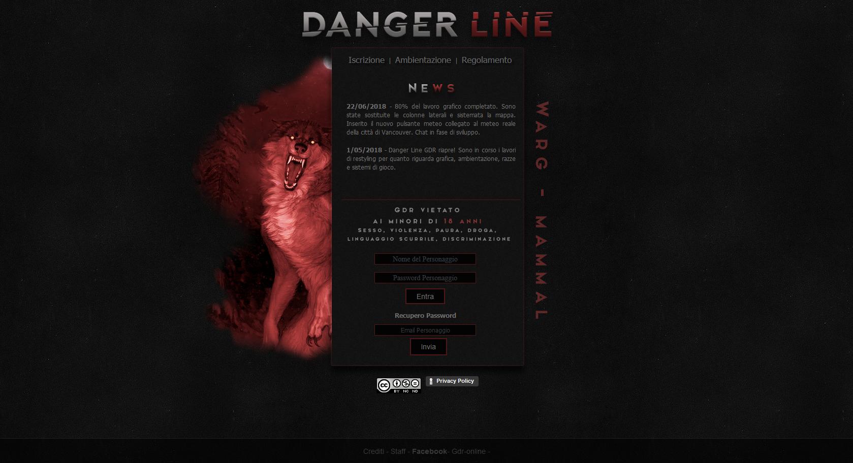 Danger Line GDR