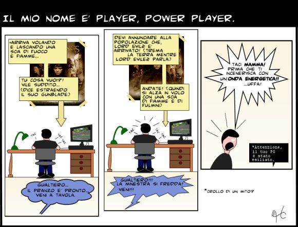 Il mio nome � Player, Power Player