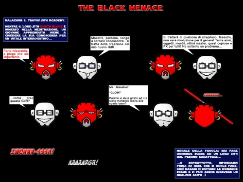The Black Menace
